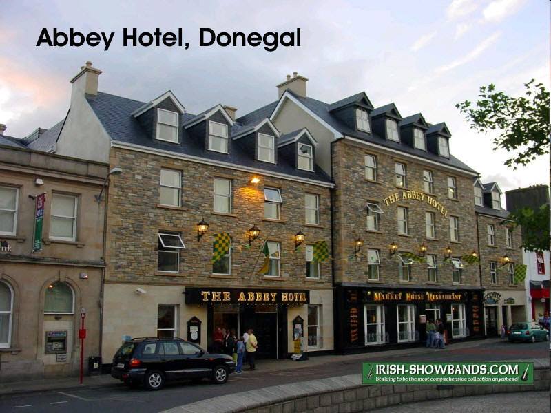 The Abbey Is A Small Hotel Located In Heart Of Donegal Town It Has Been Venue For Mostly Medium Sized Bands Over Years
